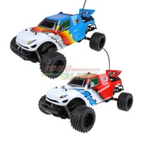 Wholesale New Scale Waterproof WD Off Road High speed electronics remote control Monster Truck rc racing cars