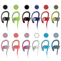 Wholesale Drop shipping Refurbished Beats powerbeats wireless Bluetooth Headset noise Cancel headphone Colors with retail box DHL