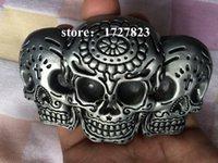 belt company - Skull vodka skull belt buckles unique Silver Skulls Hug belt buckle Retail company Belt Clothing Belt Clothing