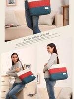 Wholesale The latest Korean fashion canvas bags new summer beach bag shoulder lady handbag tote bag a variety of color