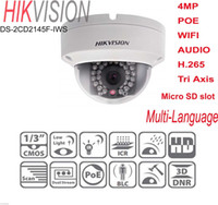 axis outdoor ip camera - HIKVISION DS CD2145F IWS MP POE WIFI AUDIO Micro SD TF Tri Axis IP Camera Dome