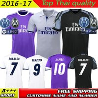 best james - Best Quality Spain MadRid JERSEY RONALDO CARVAJAL SERIO RAMOS ISCO BENZEMA JAMES KROOS BALE La Liga shirt
