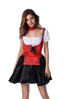 adult aprons - Women s Sexy Women s Adult Maid Uniforms Fancy Dress with Apron and Collar for Festival For Hallowmas