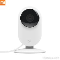 Wholesale 100 original Xiaomi YI IP camera Mi IP camera wifi wireless XiaoYi HD P Night Vision