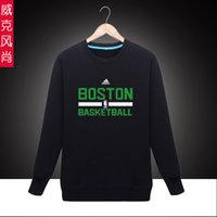 best celtics - Sports Boston Basketball Celtics Spring Autumn Cheap Men Ourdoor Crewneck Pullover Sweatshirt Best Online Sale