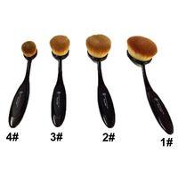 big artists - 1 Ana stasia Makeup Brushes Oval Blending Toothbrush Big Blusher Brushes Foundation Face Brush Large Brush Makeup Artist Brush Box