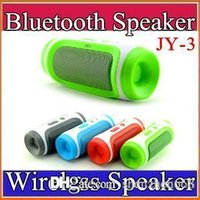answers plastic - JY Bluetooth Wireless Speaker Elliptical Round Portable Subwoofers Handsfree Stereo Speakers With Mic TF Card Phone Answer G YX