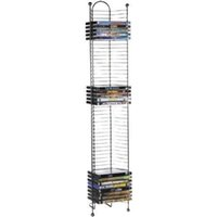 Wholesale 52 DVD BluRay Games Storage Tower Nestable New