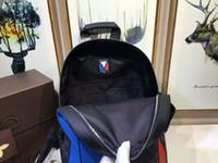 Wholesale Fashion student bag CM Genuine leather Backpack bag Josh Gaston bag sport Backpack zipper bag