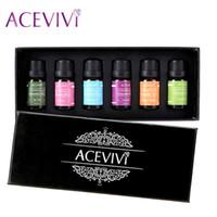 Wholesale ACEVIVI New a Set ml oz Gift Box Package Pure Essential Oil for Spa Massage oil Bath oil