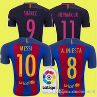Wholesale Top thailand kwaliteit voetbal shirt shirts camisetas de futbol maillot de voet S M L XL Z4