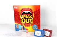 Wholesale 2016 new Speak Out Games Ridiculous Mouthpiece Challenge Game game for your mouthpiece with paper cards