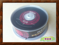 Wholesale Ritek Chinese red vinyl car music CD R blank recordable CD Singles