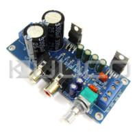 audio control amp - Dual Channel W W Digital Amplifier Audio Control Module TDA2030A OCL Circuit Finished Amplifier Board amplifier amp