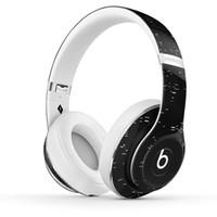 beat headphone - X PIGALLE Studio Wireless Used Beats studio Wireless Headphones Noise Cancel Bluetooth Headphones from girls headphones