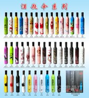 advertising mix - Plumblossom U6 mixed styles Red Wine bottle sun umbrella promotional umbrellas advertising can be printed DHL