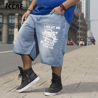 Wholesale Mens Shorts Plus Size Cotton Baggy Jeans Shorts Men Leisure Denim Shorts For Big And Tall Men Jogger