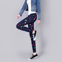 better flexibility - Women Leggings Summer Styles Colorful Printing Better Flexibility Printed Leggings and Women Print Sexy Pants