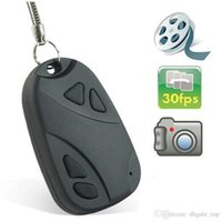 hot vedio - Hot Sale Mini Car Keys Cameras Cheap Spy Car Key Chain Camera Mini Camcorder Vedio Recording in Car Keys