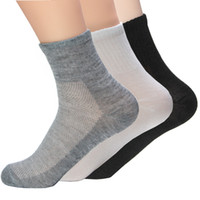 Wholesale Pieces Fashion New Summer Autumn Men s Socks Quality Cotton Polyester Sports Mesh Breathable Sock For Men Free