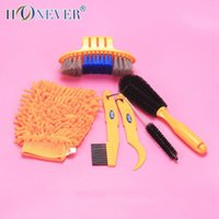 Wholesale CYLION Proffessional Bicycle Cleaner Kits Bike Cleaning Tool Cycling Tire Brush Wash Brake Disc Cleaner Tool Set Maintenance