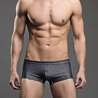 Wholesale Cowboy underwear Mens Underwear Boxer Shorts Cotton Men High Quality Underwear Boxer Trunks Gay Penis Pouch