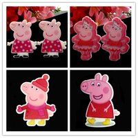 Wholesale Pig Resin Cabochon Flatback Flat Back Planar Scrapbooking Girl Hair Bow Center Photo Frame Craft
