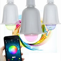 best blue tooth - Bluetooth Wireless Mini MP3 Speakers Bulbs Warm White LED Bulbs Best Mono Sealed White RGB Lights Lamps Blue Tooth Subwoofers Cheap