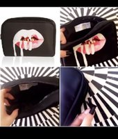 Wholesale in stock Kylie Jenner Make Up Bag Birthday Collection Makeup Bag Kylie Lip Kit Bag High Quality