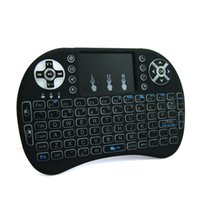 android tablet pad - Rii I8 wireless keyboards G wireless mini keyboard For Smart TV Box Touch pad mouse for Android Tv box tablet mini pc with Backlit