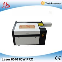 Wholesale 60W mm CO2 Laser Engraver laser Cutting Machine with USB port laser engrave machine Russia free tax
