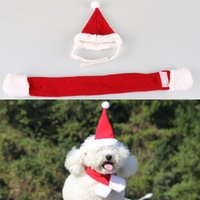 accesories for dogs - Pet Accesories Christmas Style Pet Tie Pet Hat for Small Medium sized Dog and Cat Christmas Suit for Christmas Decoration