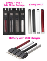 Wholesale O pen vape bud touch battery with USB Charger e cigarette cartridges wax oil pens thread for CE3 vaporizer pen cartridges