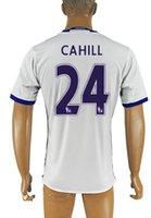 Al por mayor de la calidad de Tailandia 2016 personalizada temporada 24 Cahill Inicio Fútbol TOPS, 4 FABREGAS Camisetas de fútbol DESGASTE, 10 PELIGRO Fútbol Ropa