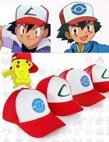 animations letters - New animation pokemons go cap of Pocket Monster Pocket Monster ash peaked ball cap hat animation