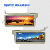 big pc monitors - 2 X Inch Automotivo Auto Car Universal Sun Visor TFT LCD Sunvisor Monitor Big Screeen Mobile Audio Video System