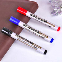Wholesale 20pcs Whiteboard Marker Pen Red Blue Black Ink Color Pens School Supplies Office Tool Whiteboard Pens Papelaria