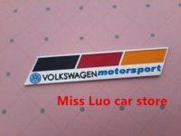 Wholesale VW Motorsport logo Car Emblem Badge Decal Sticker for Volkswagen Golf Polo CC MAGOTAN Scirocco