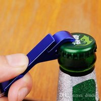 beverage promotions - Mini Easy Using Key Chain Beer Bottle Opener Small Beverage Ring Claw Bar Pocket Tool