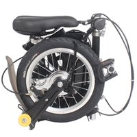 Wholesale New quot New Fashion Portable Single Speed Folding Bicycle Mini Foldable Bike Black