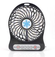 Wholesale Powered Mini Portable Palm Leaf Fan USB Li ion Battery Rechargeable Gear Speed