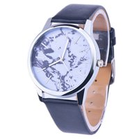 award pin - New Women Men Vine Earth World Map Watch Alloy Analog Quartz Leather Wrist Watches Colors for student gifts awards honor