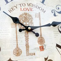 antique beds iron - 18 quot Wrought Iron Wall Clock Antique Retro Vintage Design Clocks Watch For Living Room Bed Bedroom Home Decoration Horloge Murale