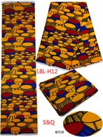african items - ITEM NO LBL H12 High quality veritable wax block prints super wax dutch wax fabric for sewing african wax prints fabric for wedding party