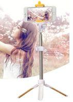 Wholesale 2th Generation Bluetooth Selfie Stick Monopod Tripod Stand Self Portrait Extendable For iPhone Plus S C Samsung Note