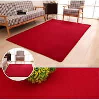 Wholesale Floor Rug Soft Solid Anti skid Carpet Living Dining BedroomBedside living room coffee table full of floor windows