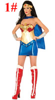 america ladies clothing - 9 styles adult lady halloween dress up women christmas cosplay clothes captain america superman batman averages girls costume dress cape
