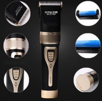 Wholesale 2016 New hair clipper lithium battery titanium ceramic blade Rechargeable Hair Trimmer hair cutting machine