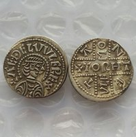 ancient antiques - UK King Aethelwulf of Wessex ancient UK Penny