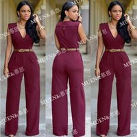 Wholesale New arrival Sexy Jumpsuits For Women Printed Black White Sleeveless Jumpsuits big girl Rompers Drop shipping